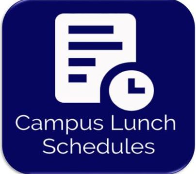 Campus Lunch Schedules