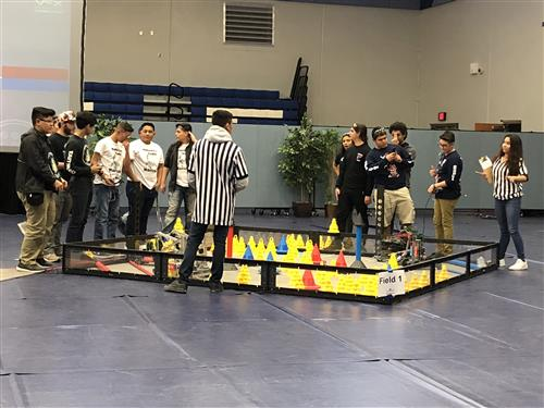 HHS Robotics at Clint High School