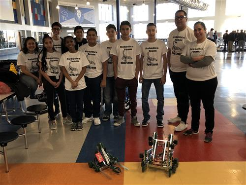 HHS Robotics Club 2018