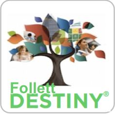 Follett Destiny Logo Image for Library Catalog Search