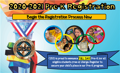 Prek and New Student Preregistration