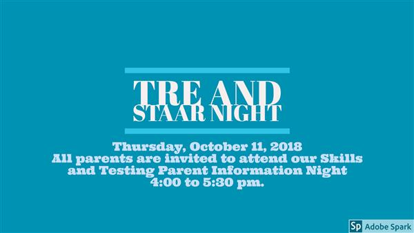 TRE and STAAR Night