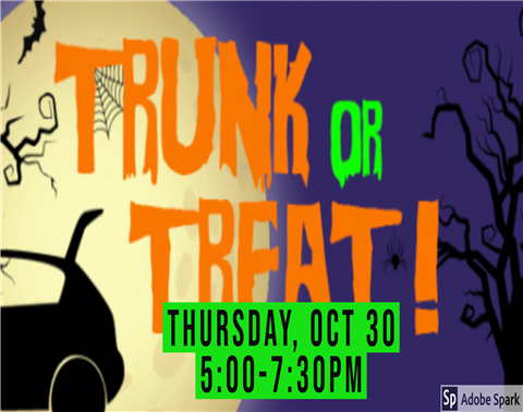 Image of trunk or treat information