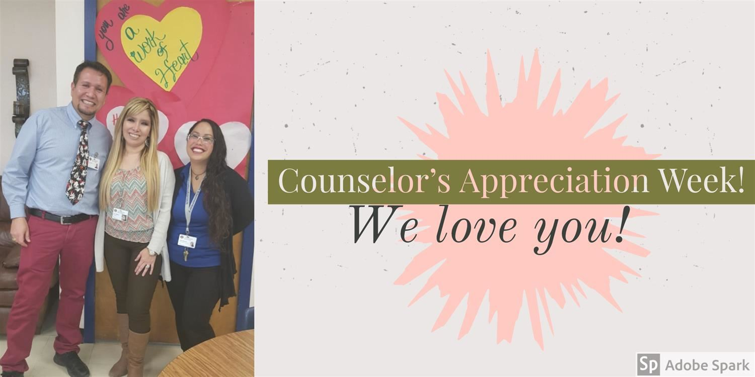 image of our counselors on counselor appreciation week