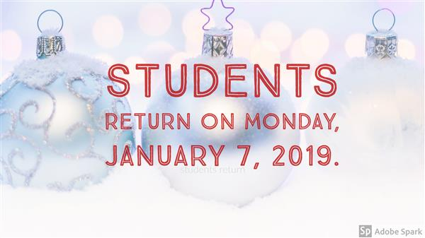 Students return