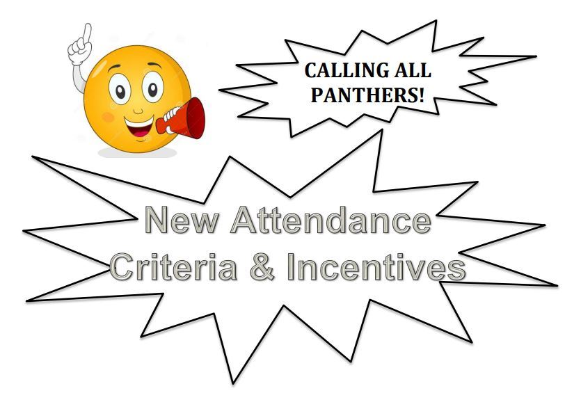 2019-2020 Attendance Criteria and Incentives