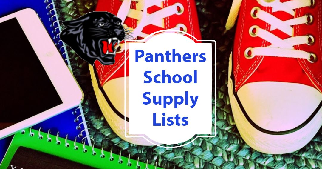 2019-2020 Student Supply Lists