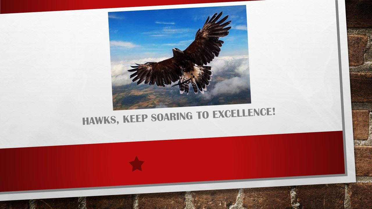 hawk soaring above mountains, Hawks, keep soaring to excellence!