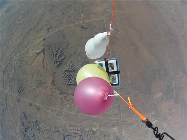 High Altitude Weather Balloon