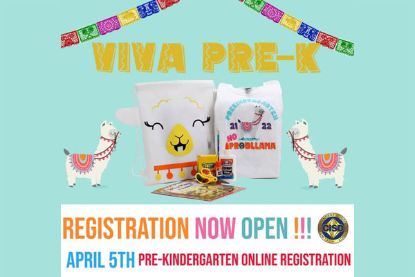 Pre-Kindergarten Online Registration is now open