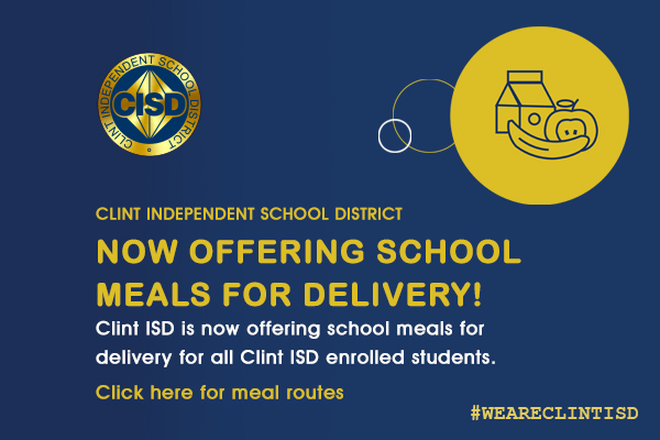 School Meals for Delivery