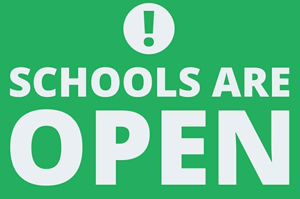 Schools are open image