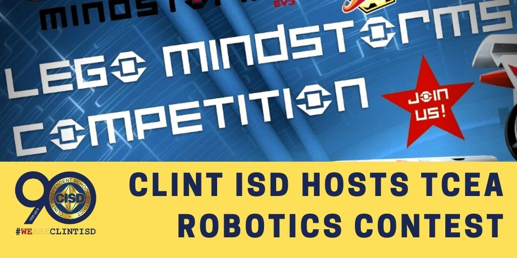 Clint ISD Hosts TCEA Robotics Contest