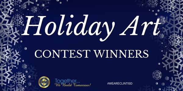 Holiday Art Contest Winners