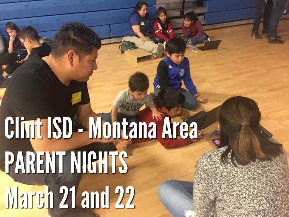 Montana Area Parent Nights March 21 and 22