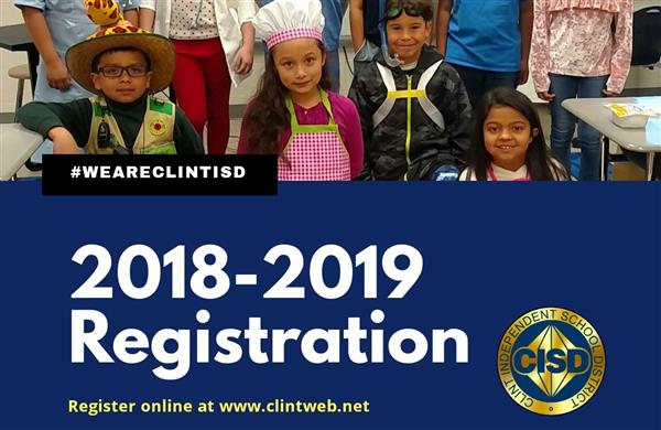 Online Registration Underway for 2018-19