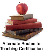 books with apple on top for routes to alternative education