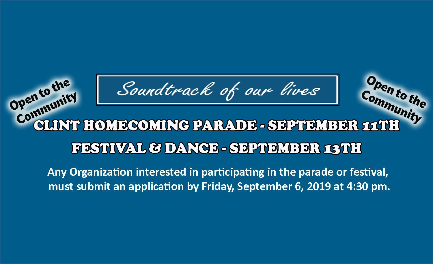 homecoming parade and festival